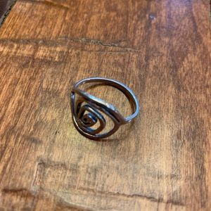 Jewelry - Sterling Silver Ring. 925 Stamp as shown. Pretty.